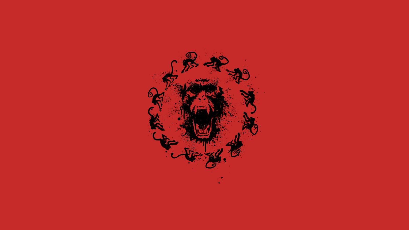 12 monkeys minimalism Wallpapers HD / Desktop and Mobile Backgrounds