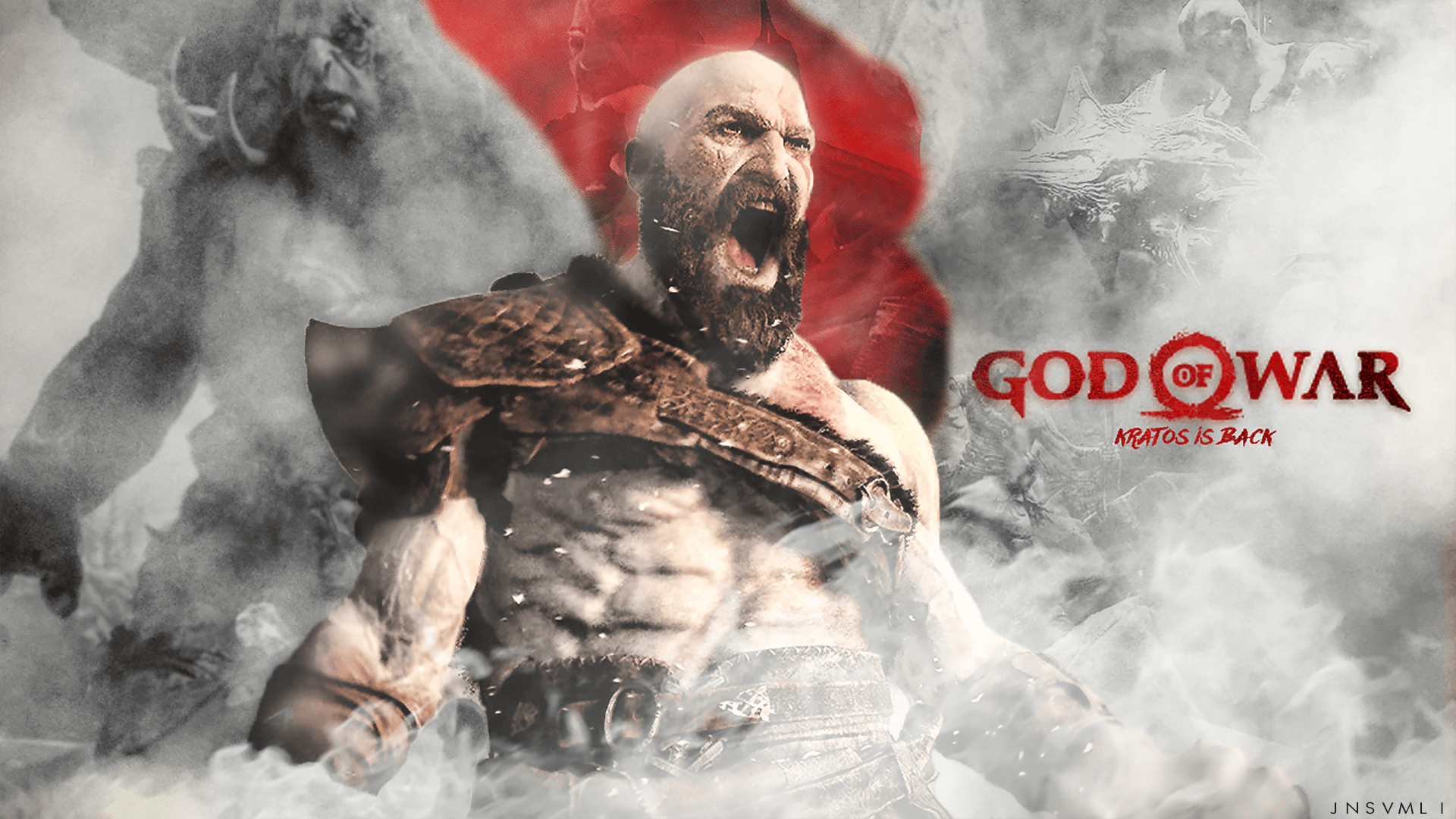 View God Of War Background Images Background