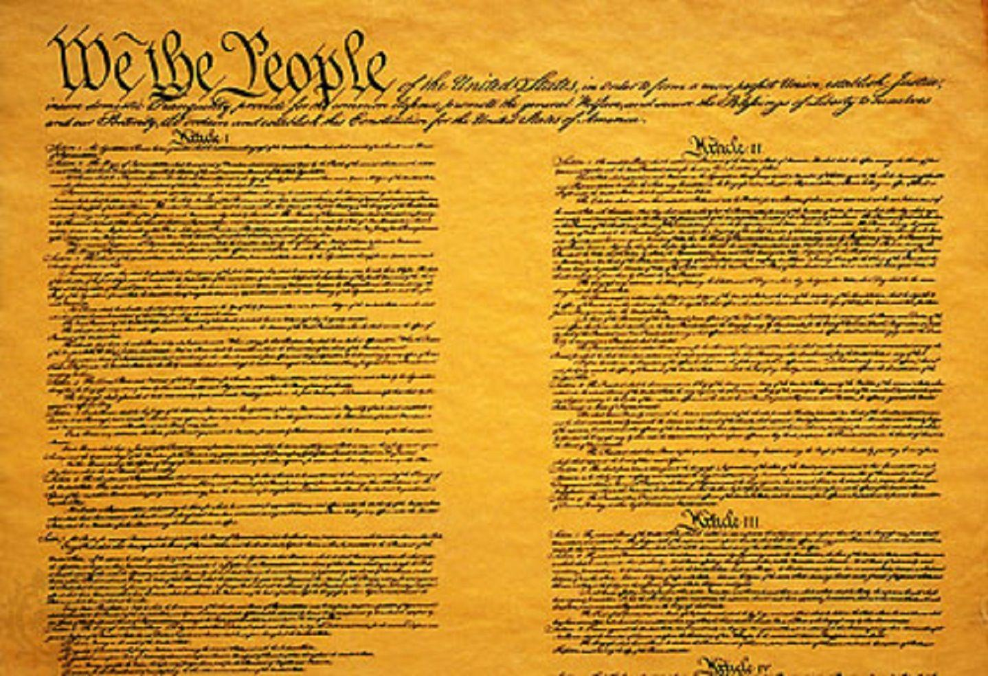 an introduction to the flaws of the constitution in the united states