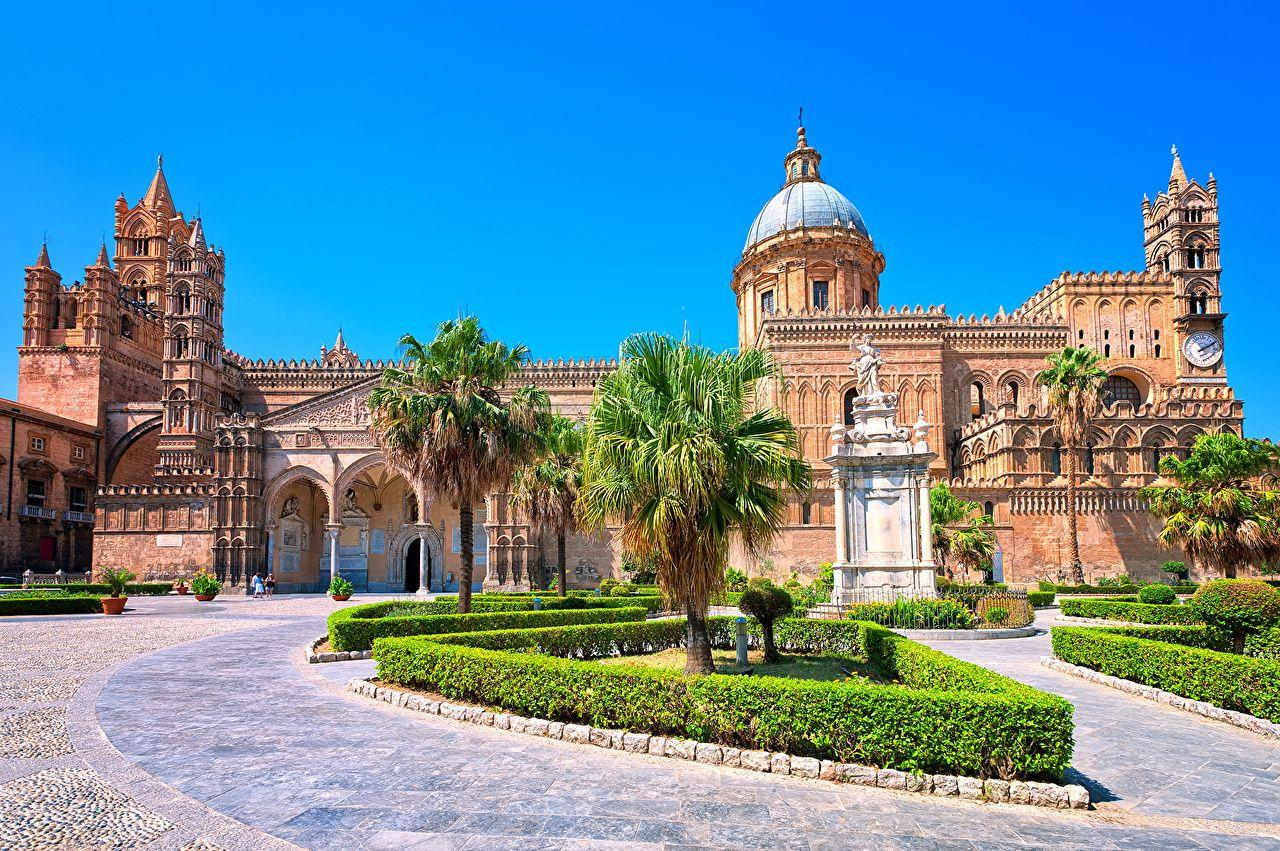Wallpapers Sicily Italy Cathedral of PalermoCathedral of Palermo