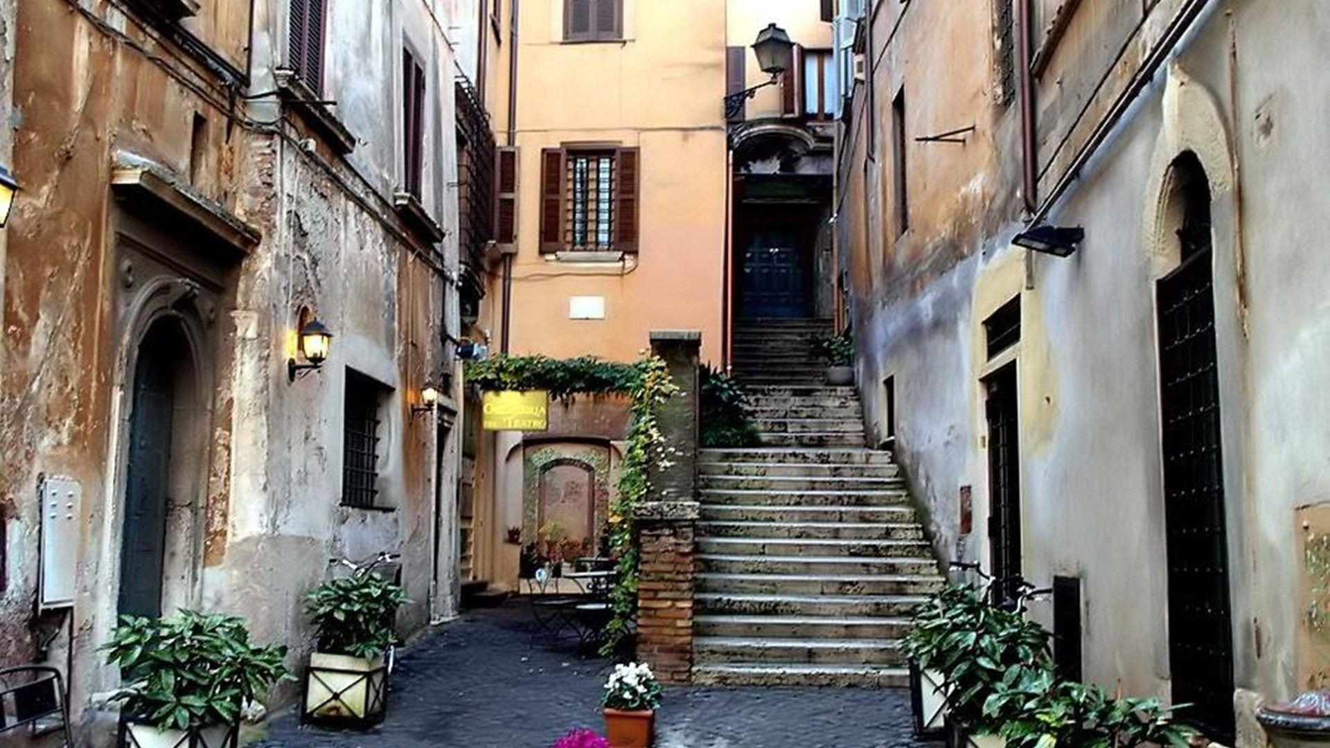 Houses: Small Sreet Palermo Beauty Huses Street Italy Stairs ...