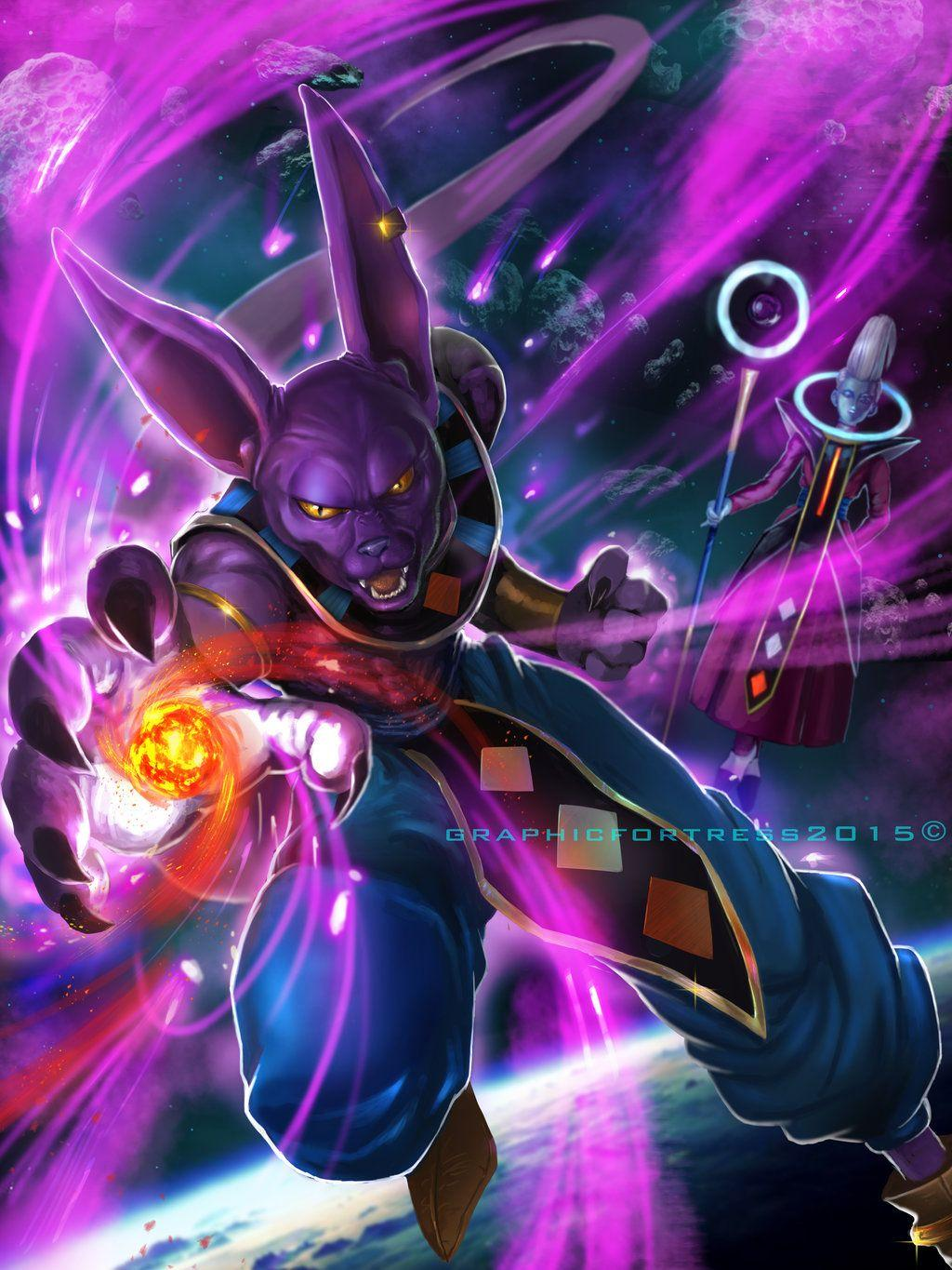 Lord Beerus Wallpapers Wallpaper Cave