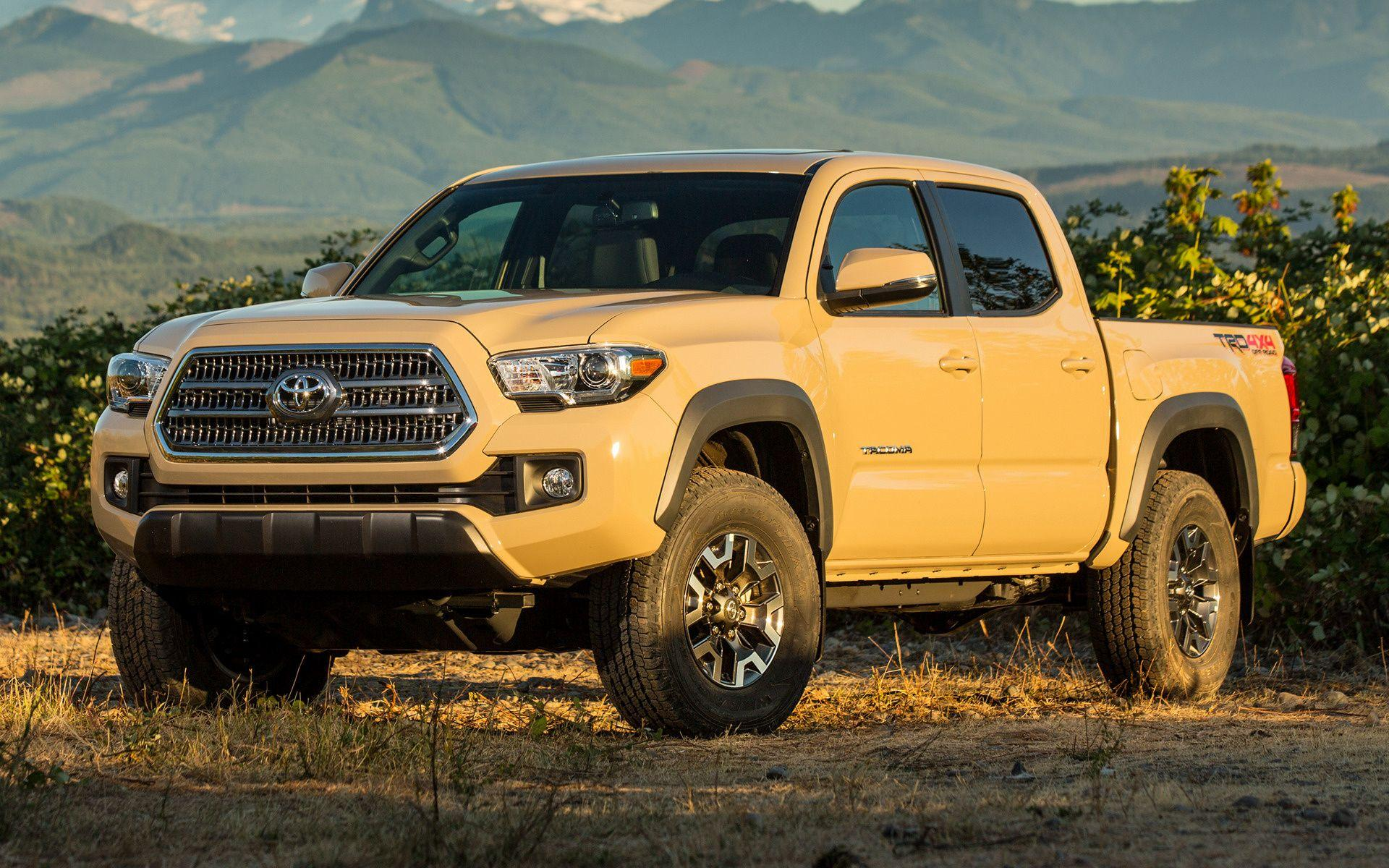 Toyota Tacoma TRD Off-Road Double Cab (2016) Wallpapers and HD ...