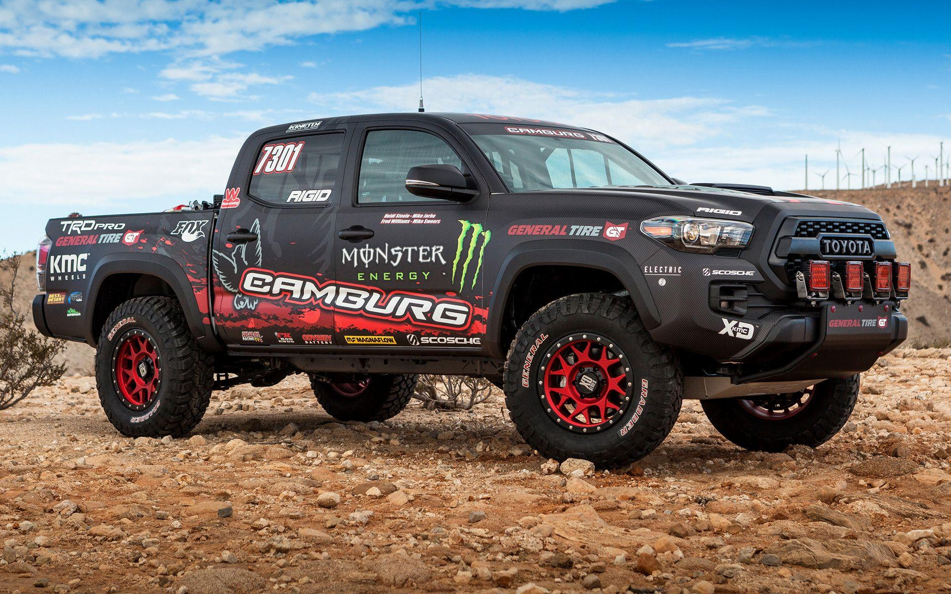 Toyota Tacoma TRD Pro Race Truck (2016) Wallpapers and HD Images ...