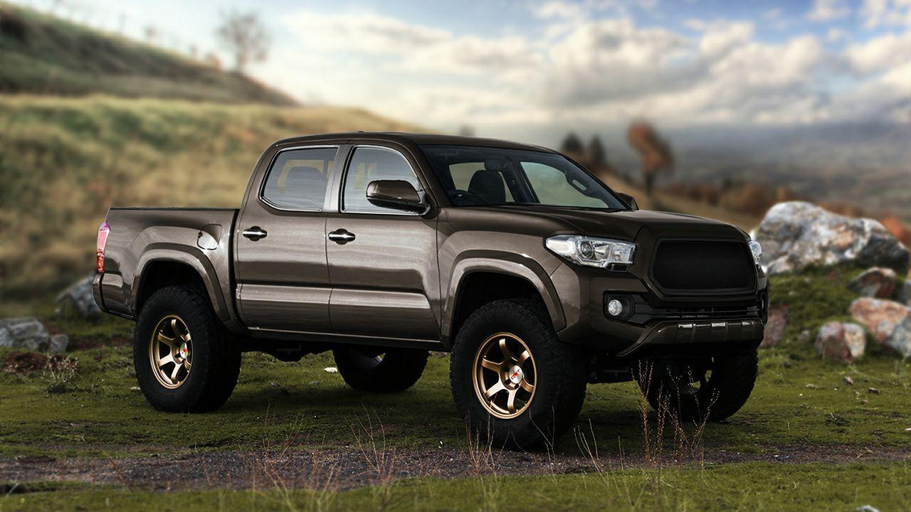 2017 Toyota Tacoma TRD Sport | HD Car Wallpapers Free Download