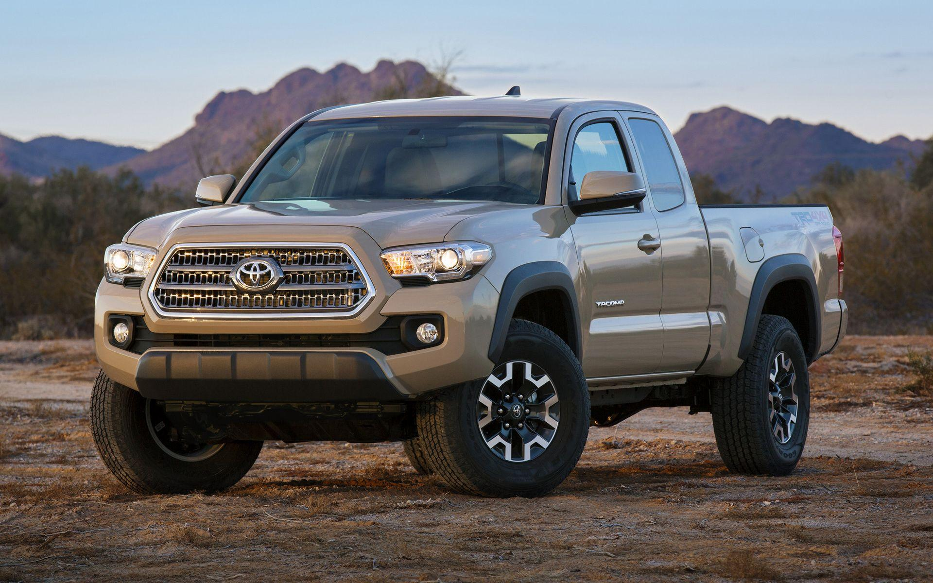 Toyota Tacoma TRD Off-Road Access Cab (2016) Wallpapers and HD ...