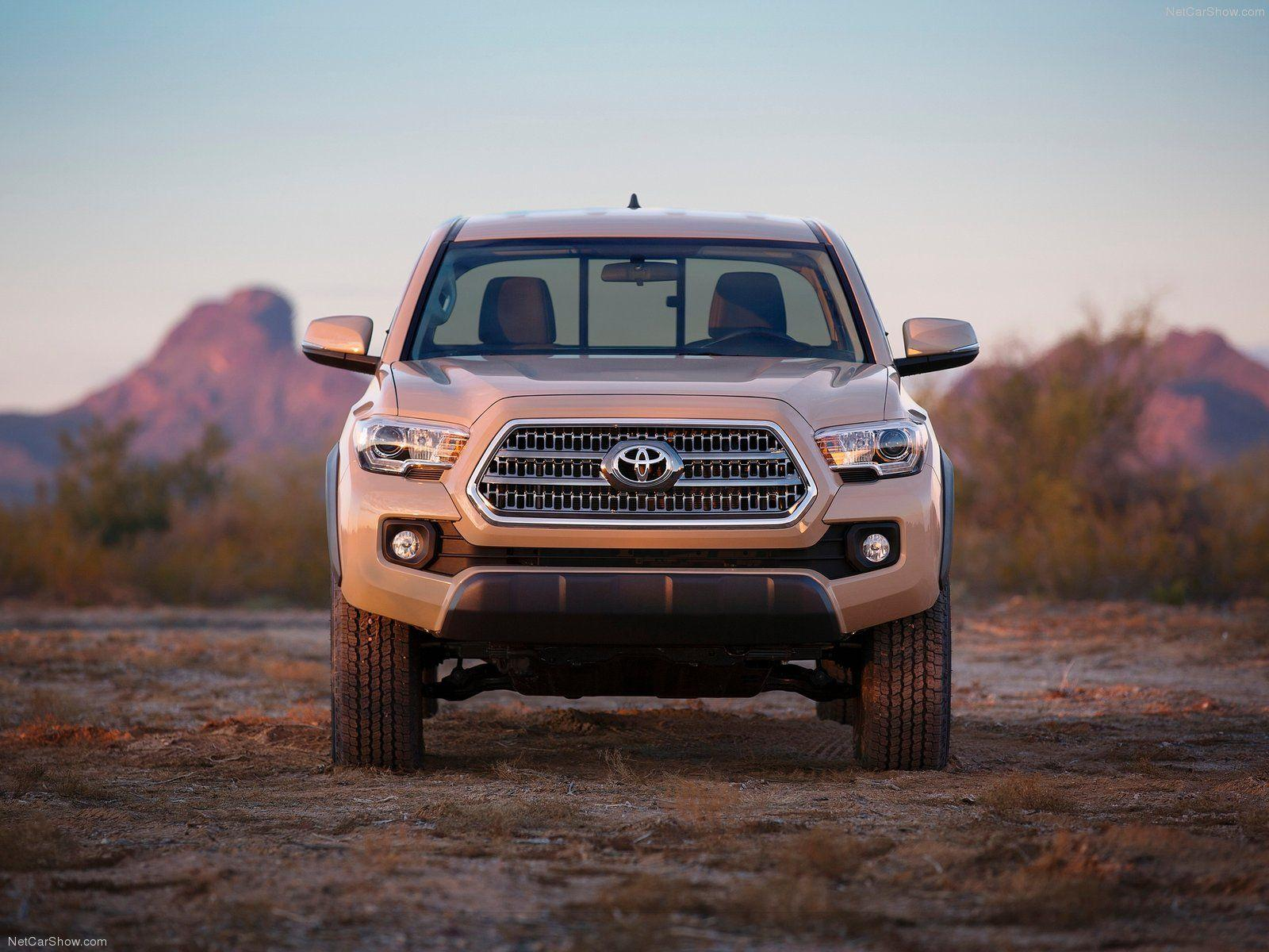 2016 Toyota Tacoma TRD Off-Road Wallpaper and Theme ...
