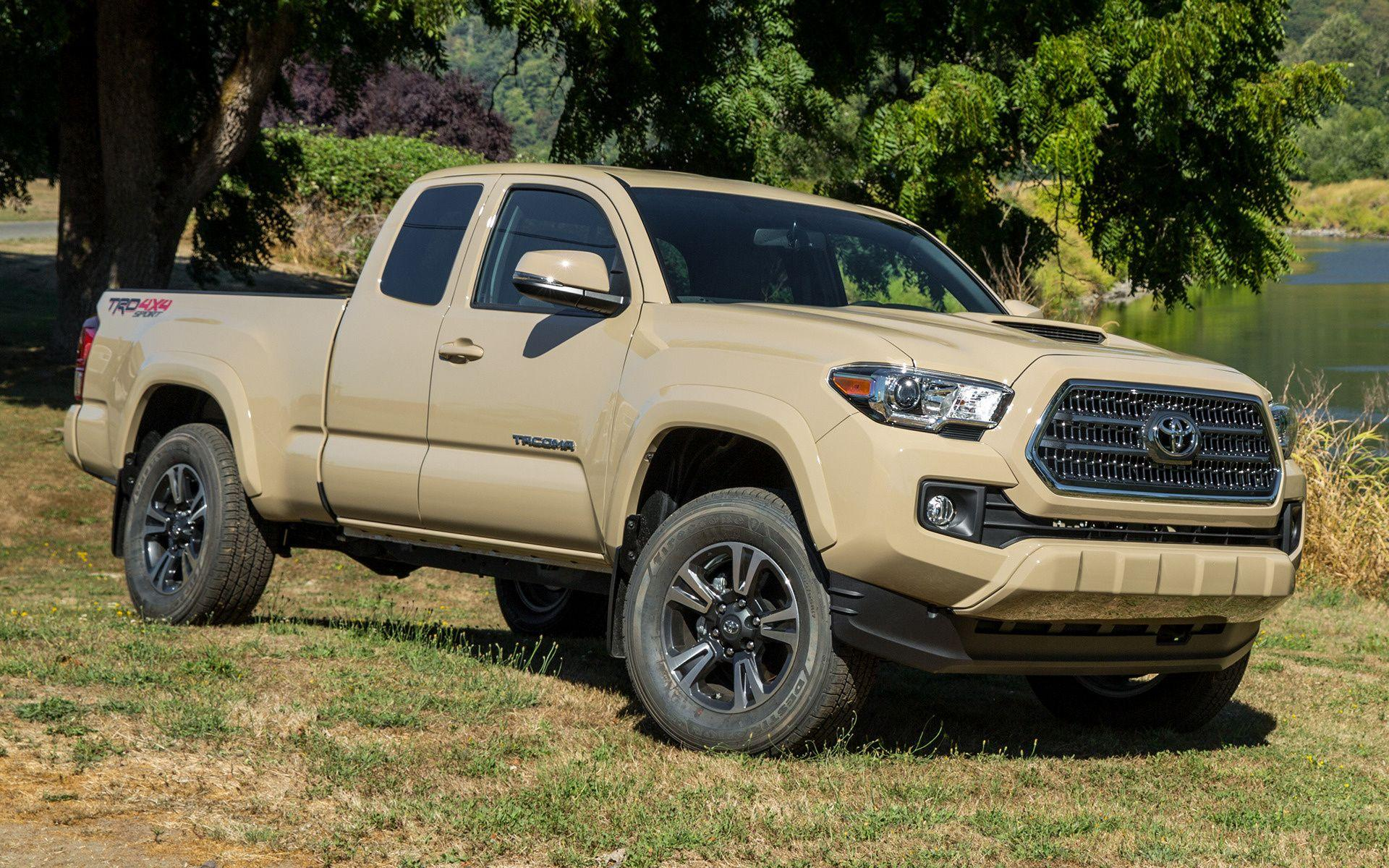 Toyota Tacoma TRD Sport Access Cab (2016) Wallpapers and HD Images ...