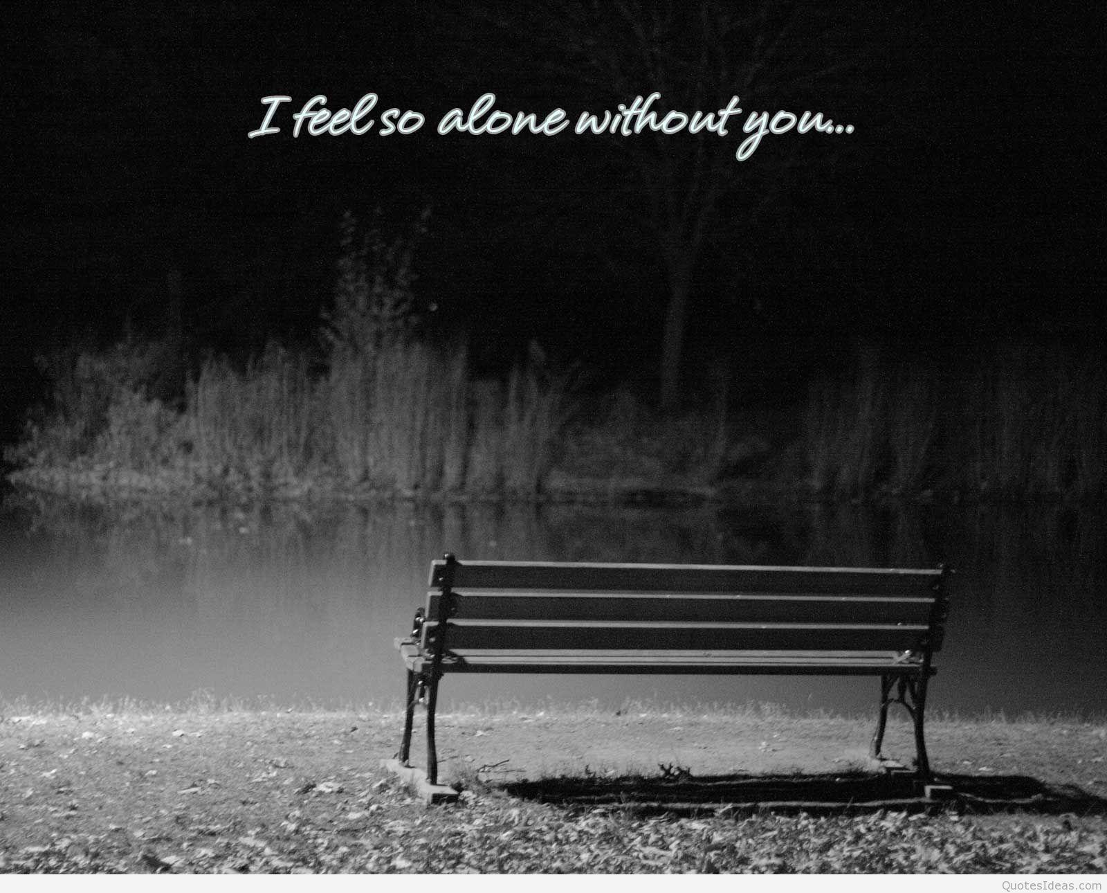 Alone Quotes Wallpapers Wallpaper Cave