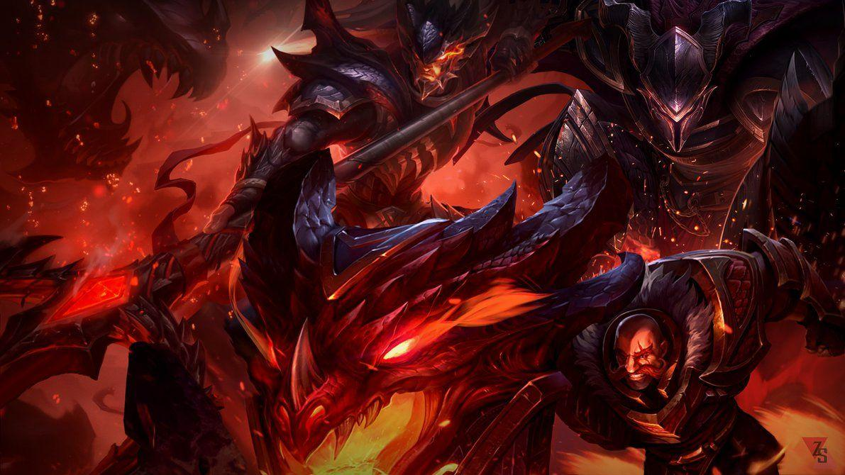 Dragon slayer wallpapers wallpaper cave dragonslayer wallpaper braum pantheon xin zhao by zactheacorn voltagebd Image collections