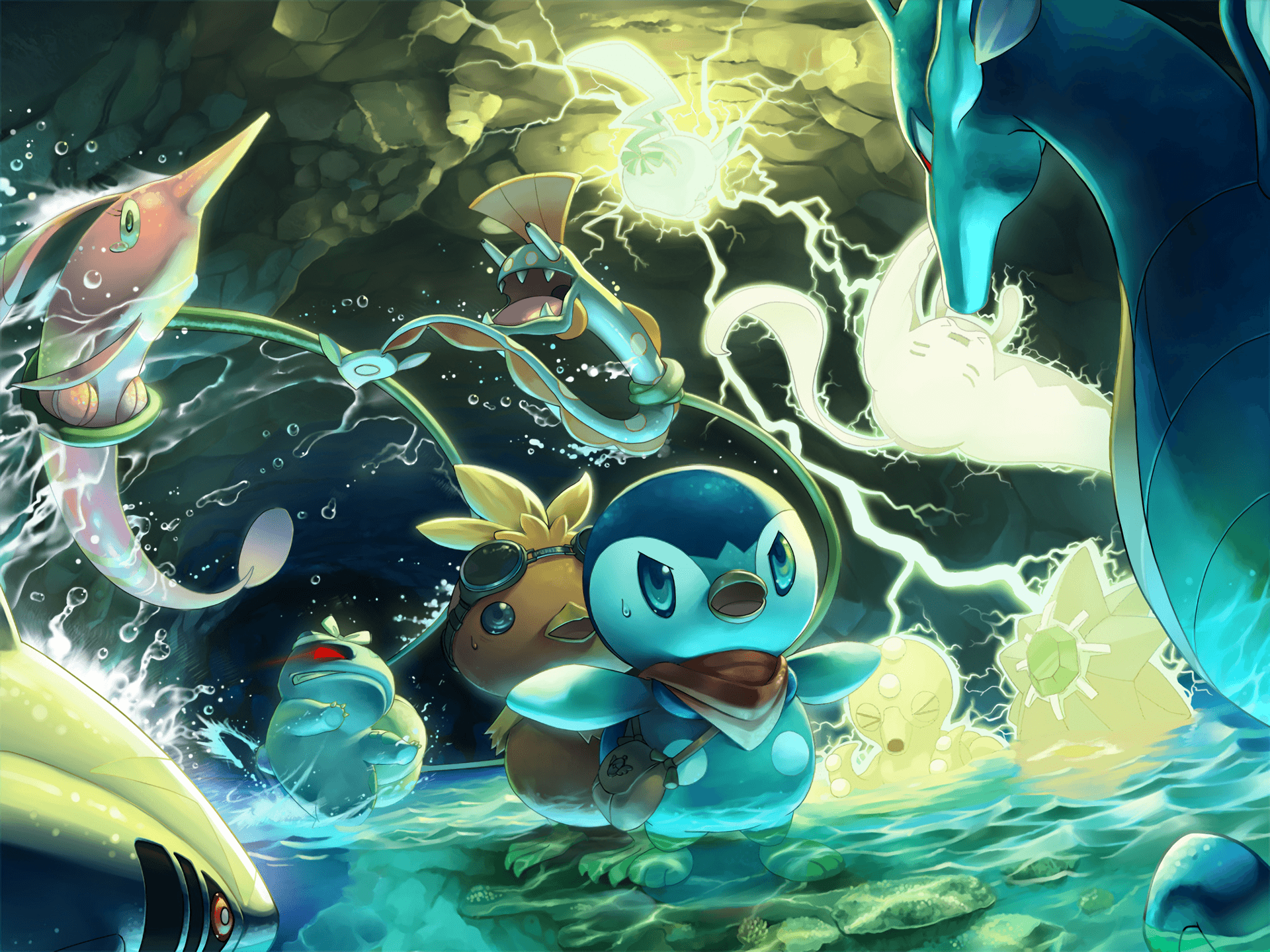 Pokémon Mystery Dungeon: Explorers of Sky Full HD Wallpaper and ...