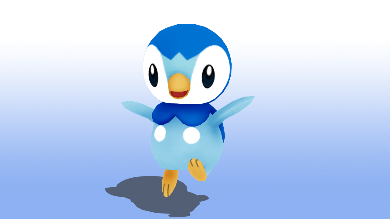 MMD Pokemon Piplup Model DL by MMDSatoshi on DeviantArt
