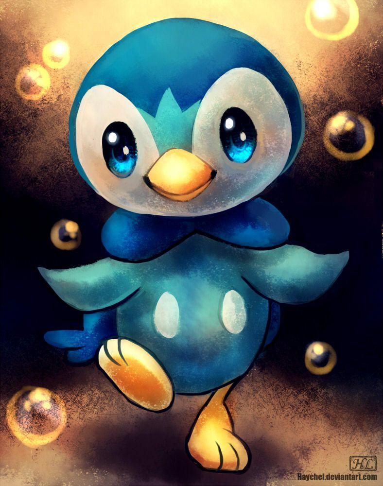 Piplup by Haychel on DeviantArt