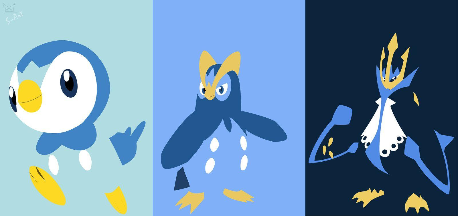Piplup evolution line by S--Art on DeviantArt