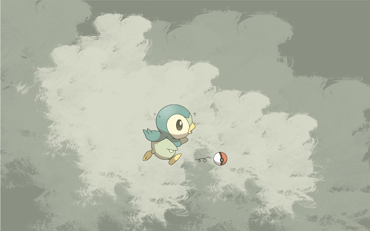 Piplup wallpaper - alternative by kkiittuuss on DeviantArt