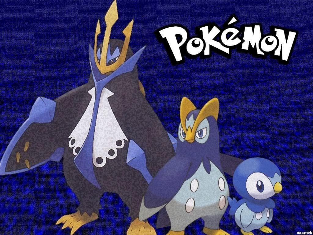Pokemon Platinum DS image Piplup evolution HD wallpapers and
