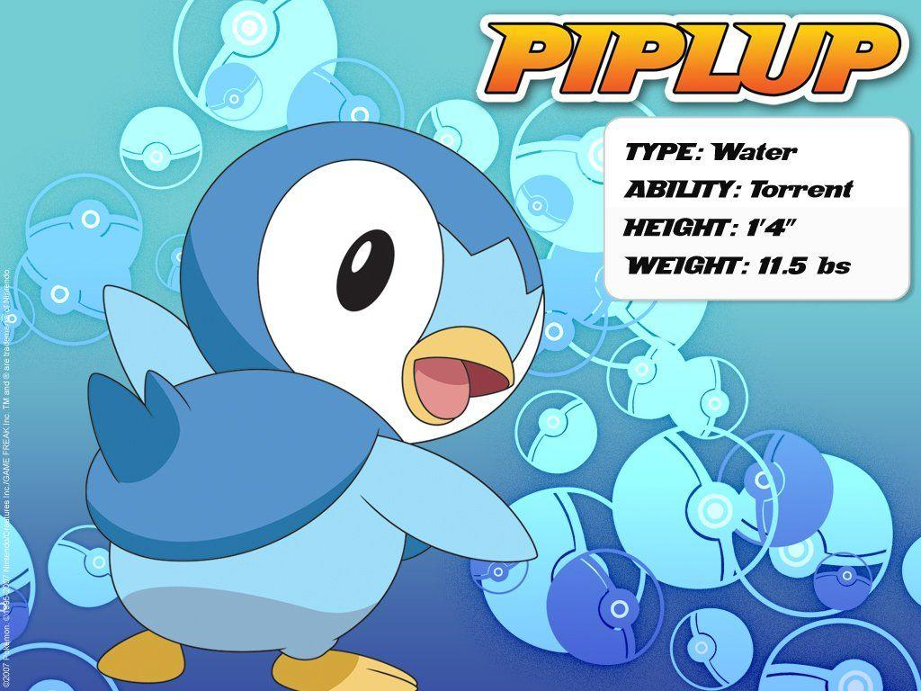 Download Pokemon - Piplup Wallpapers, Pictures, Photos and Backgrounds