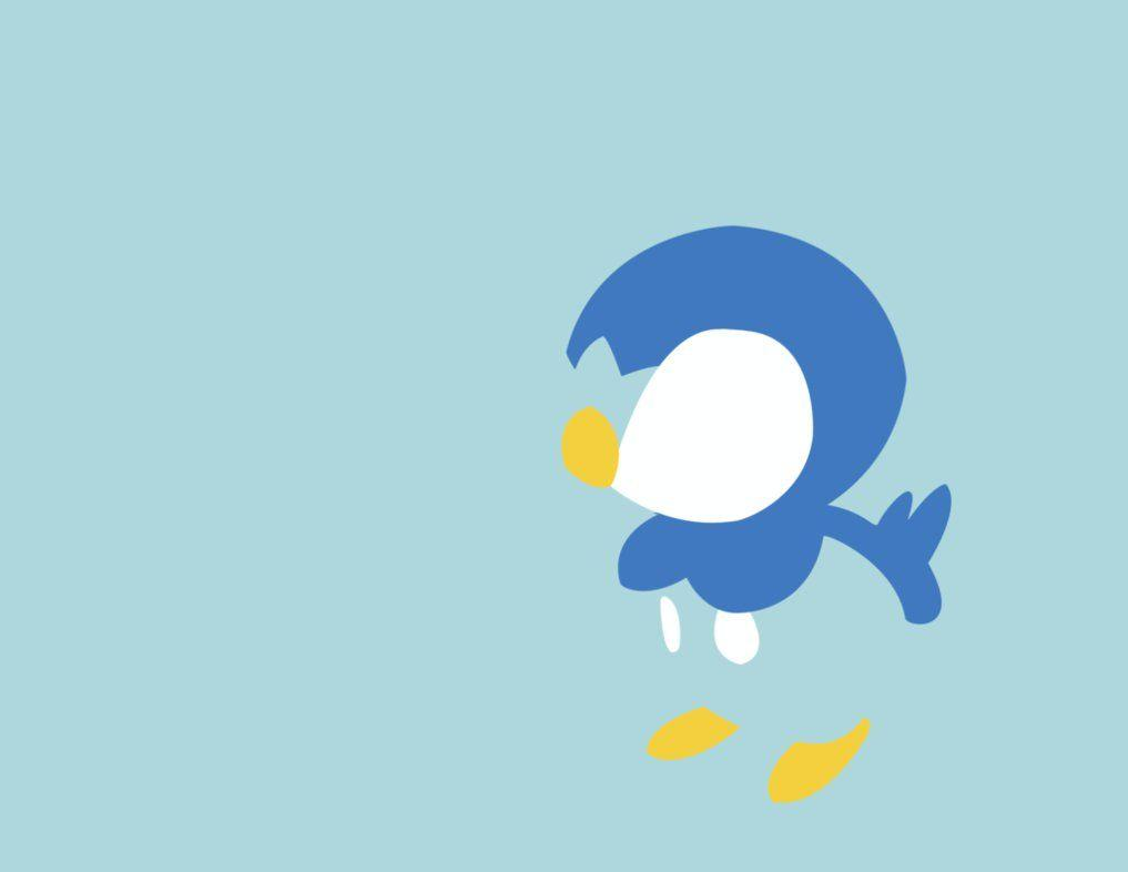 Minimalist Piplup by bananafillet on DeviantArt