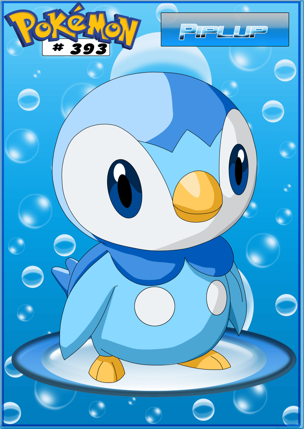 Piplup by PaMeLaEnGeL on DeviantArt