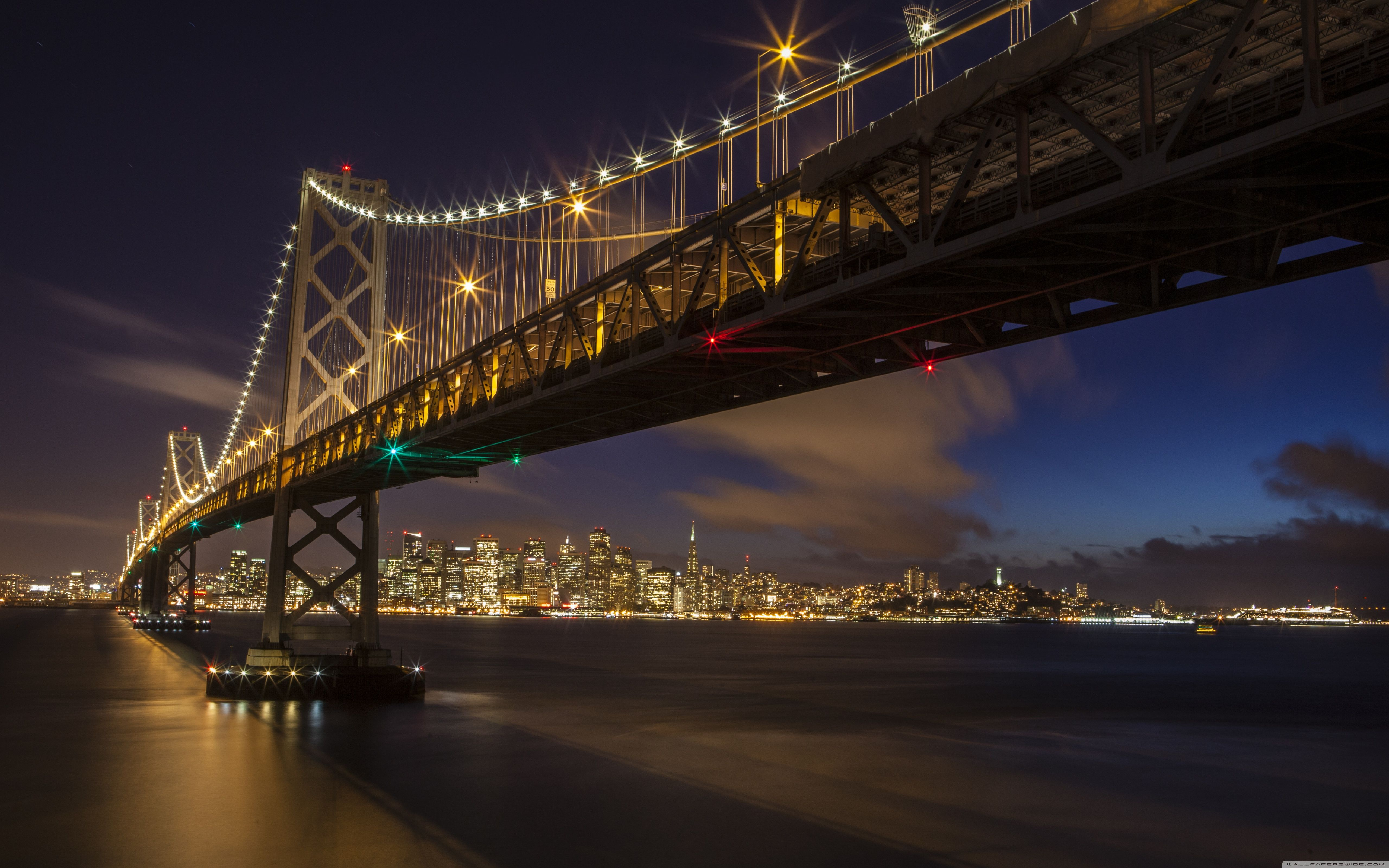 San Francisco Bay Bridge Wallpapers - Wallpaper Cave
