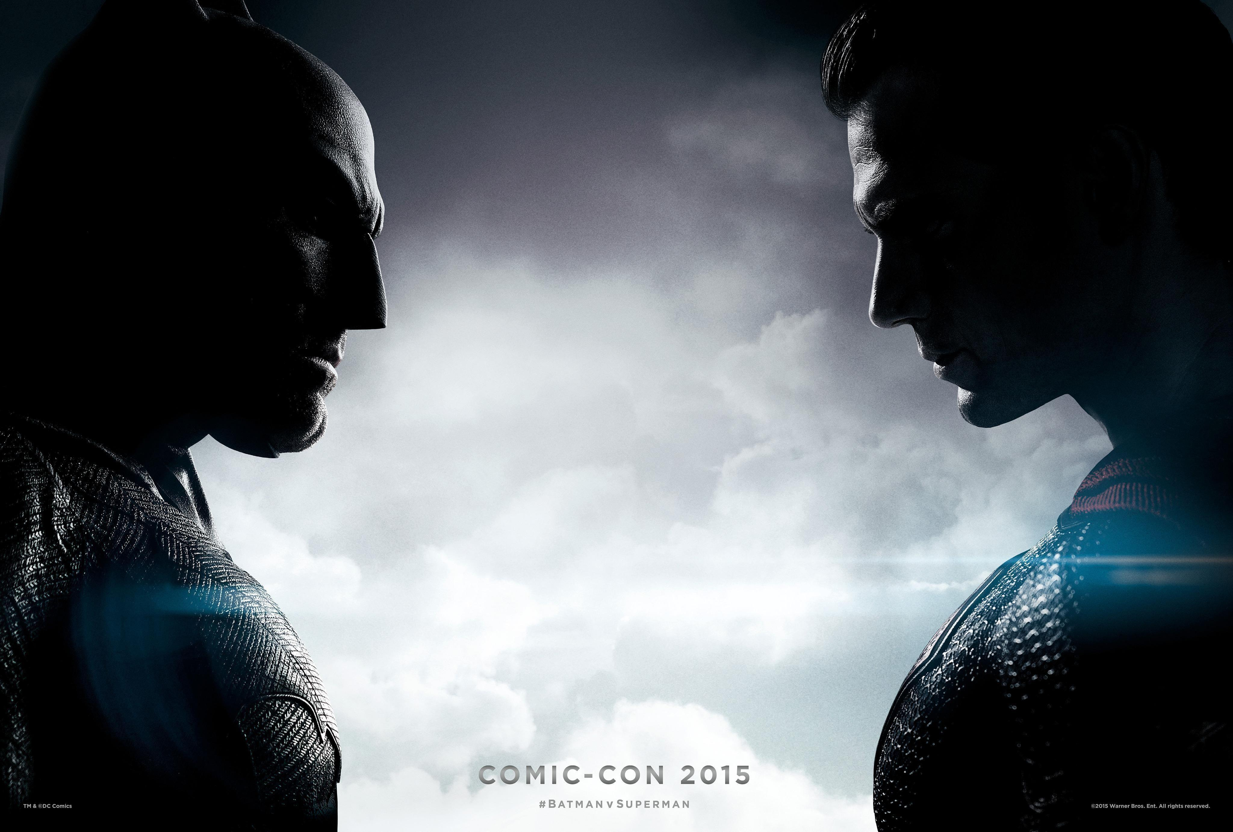 Batman Vs Superman Dawn Of Justice Logo Wallpaper