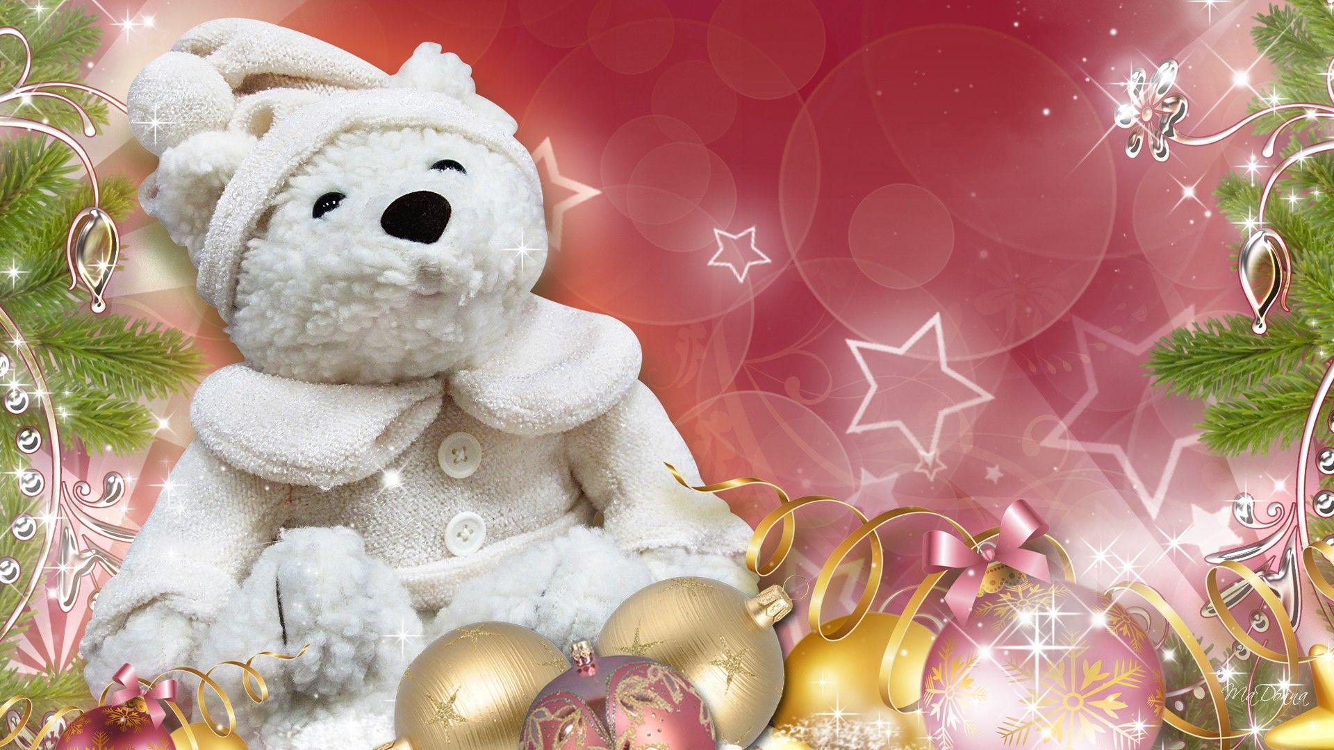 Christmas Teddy Bear Wallpaper: Christmas 2018 HD Wallpapers Wallpapers