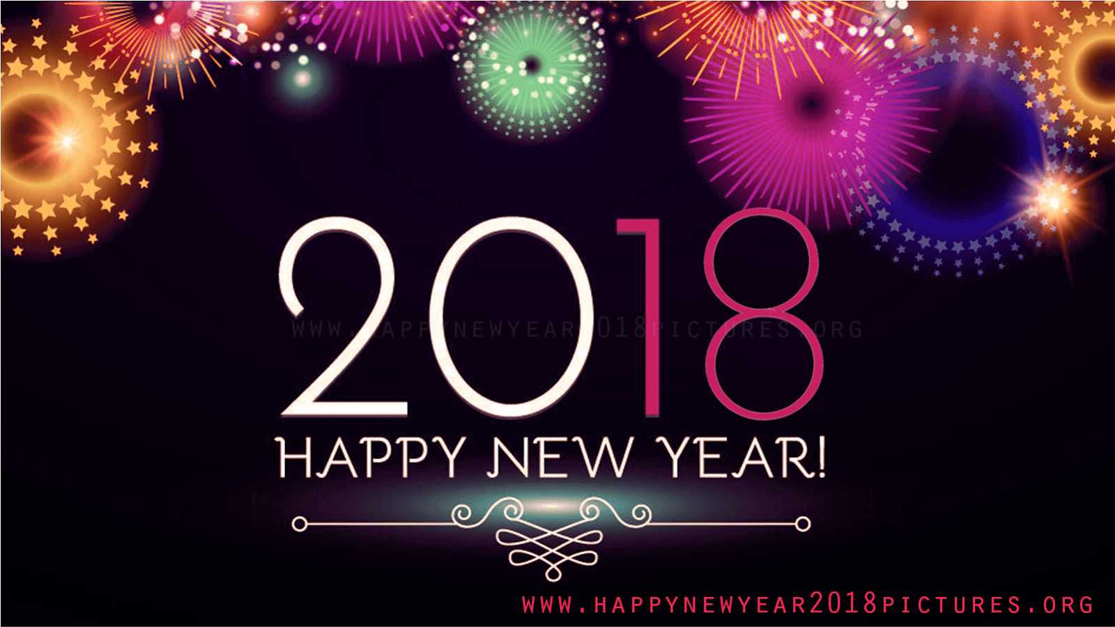 new year 2018 animated gif pictures wallpapers flash cards images