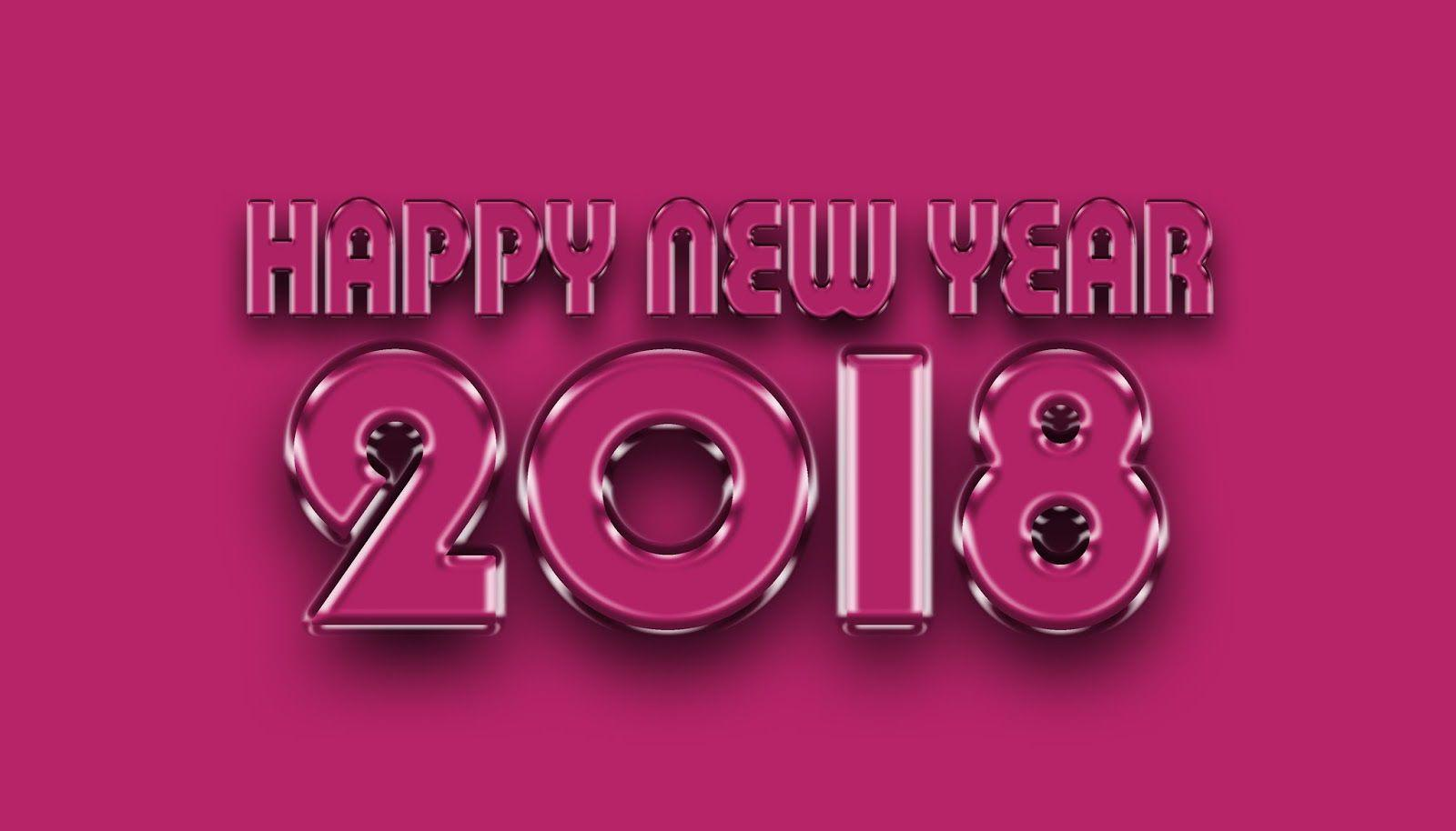 happy new year 2018 hd images 3d wallpapers free download