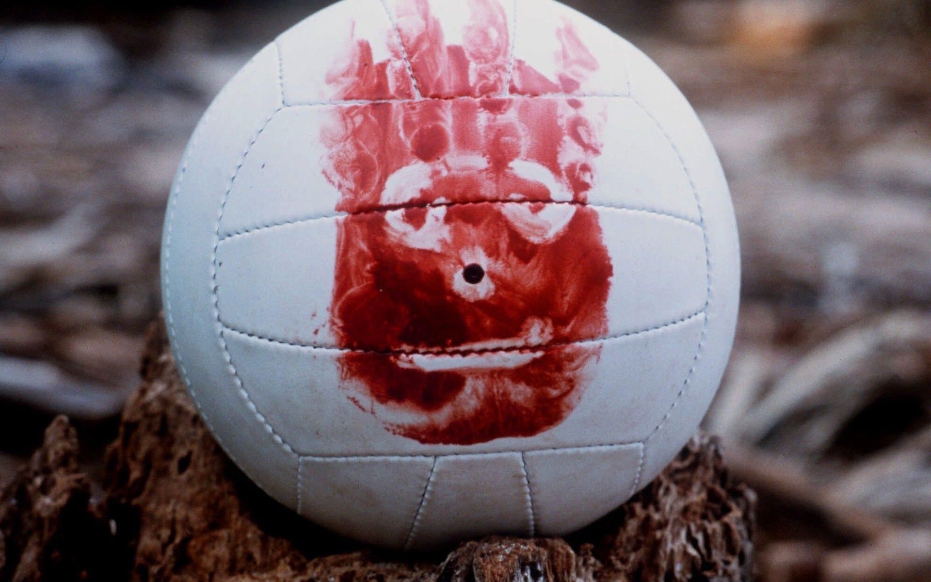 movies, blood, volleyball, Wilson, Cast Away :: Wallpapers