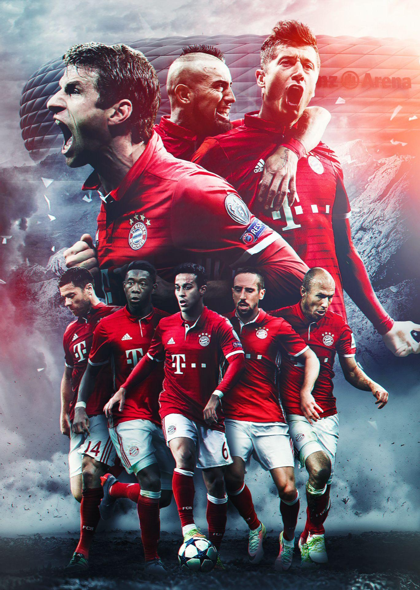 Fc Bayern Munich 2017 Wallpapers Wallpaper Cave