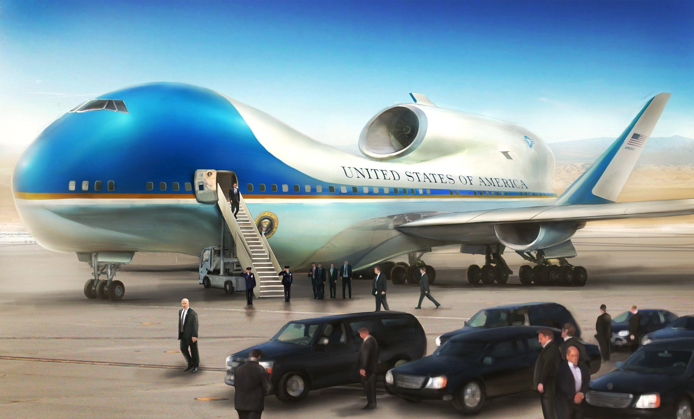 Air Force One Wallpapers - Wallpaper Cave