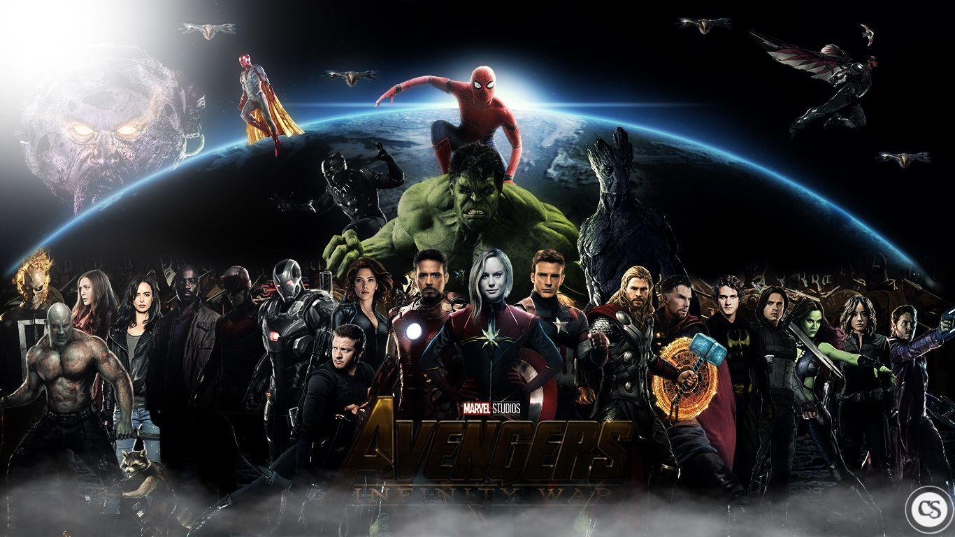 Avengers infinity war by apocalipse234