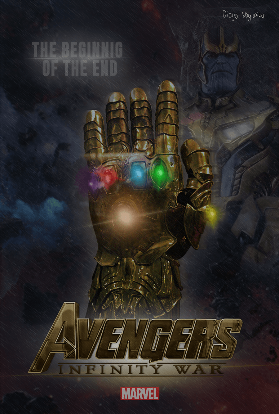 Thanos - Avengers: Infinity War by diogosnog on DeviantArt