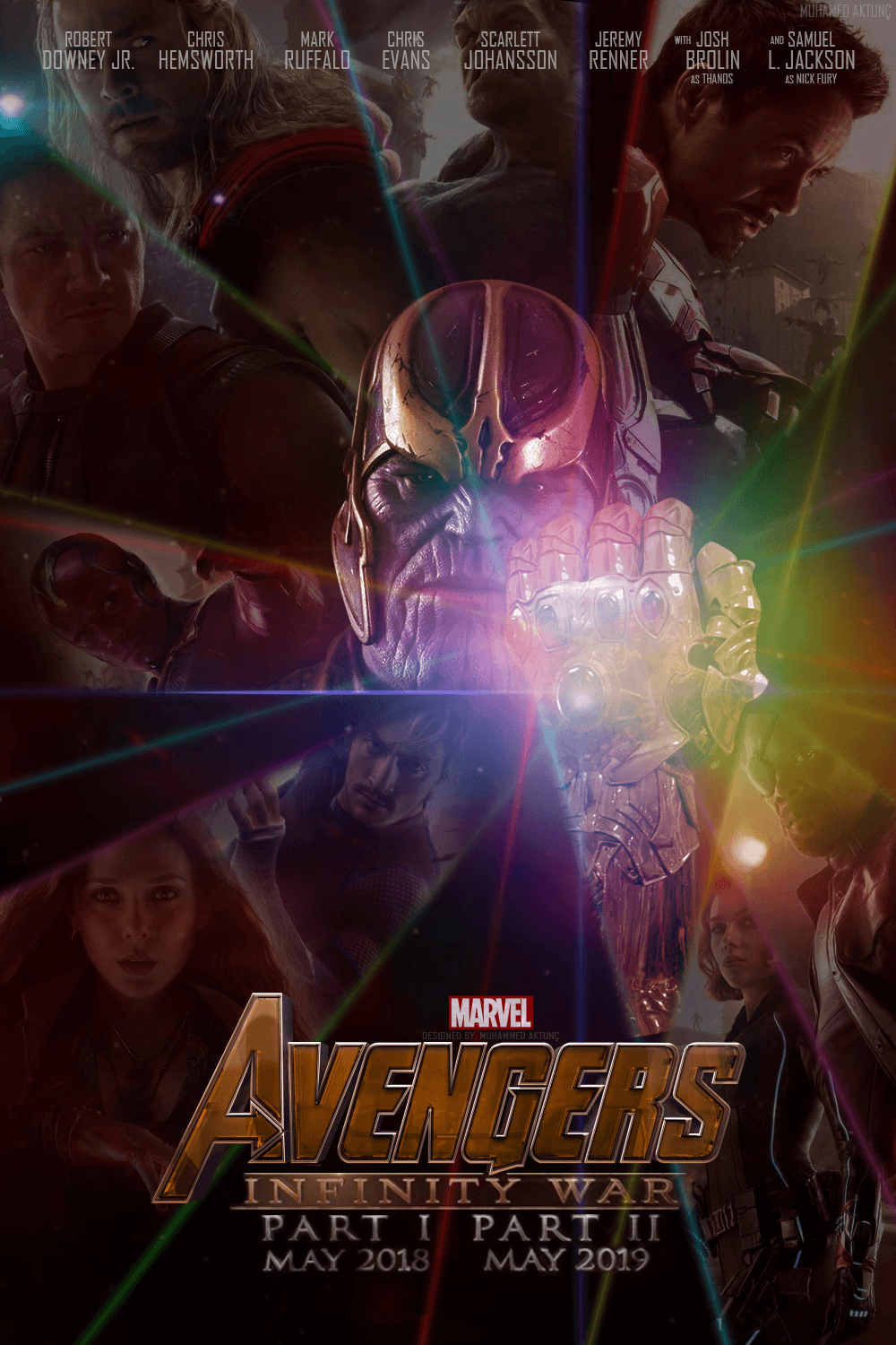 The Avengers: Infinity War Poster by muhammedaktunc