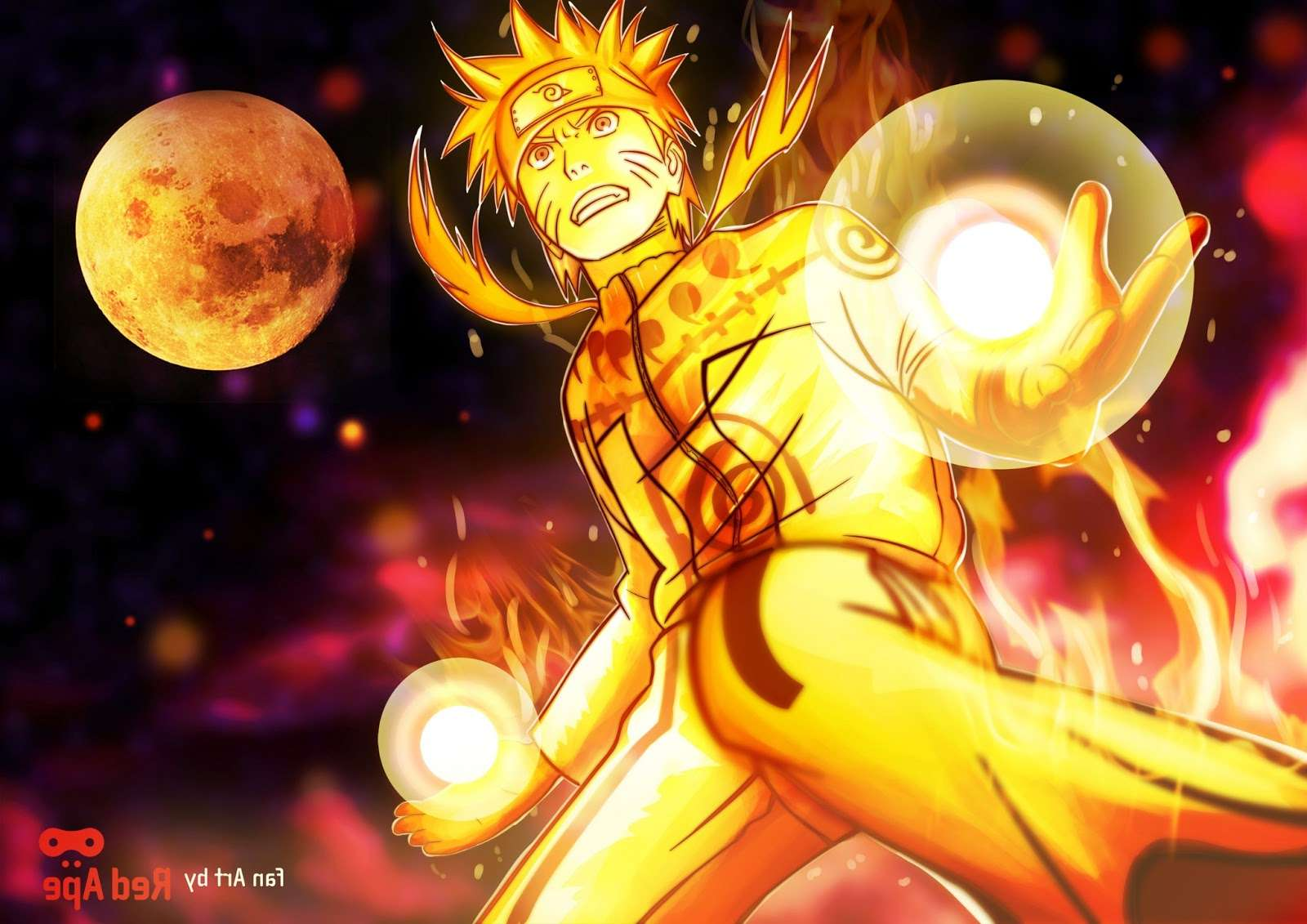 Naruto Nine Tailed Beast Wallpapers - Wallpaper Cave