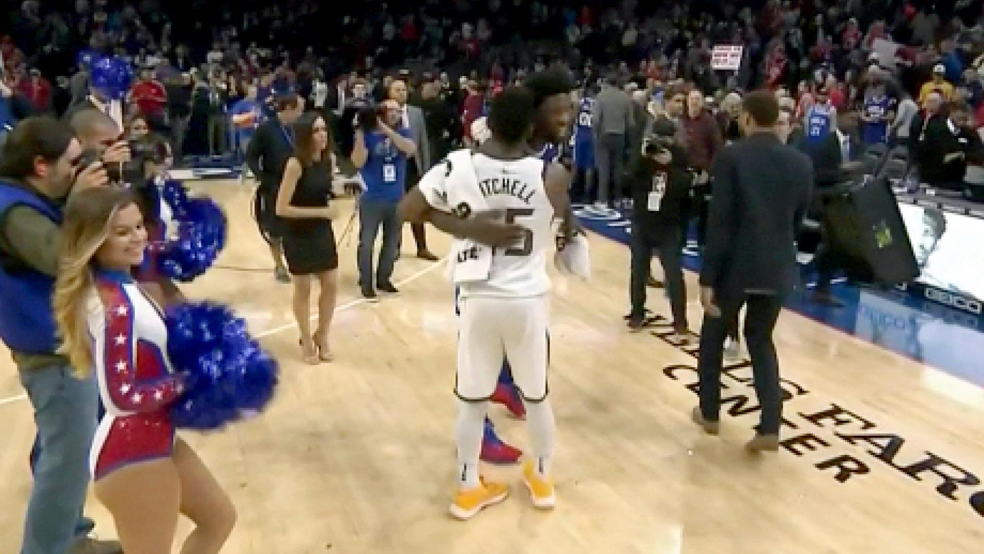Joel Embiid takes troll game to next level in Philadelphia 76ers