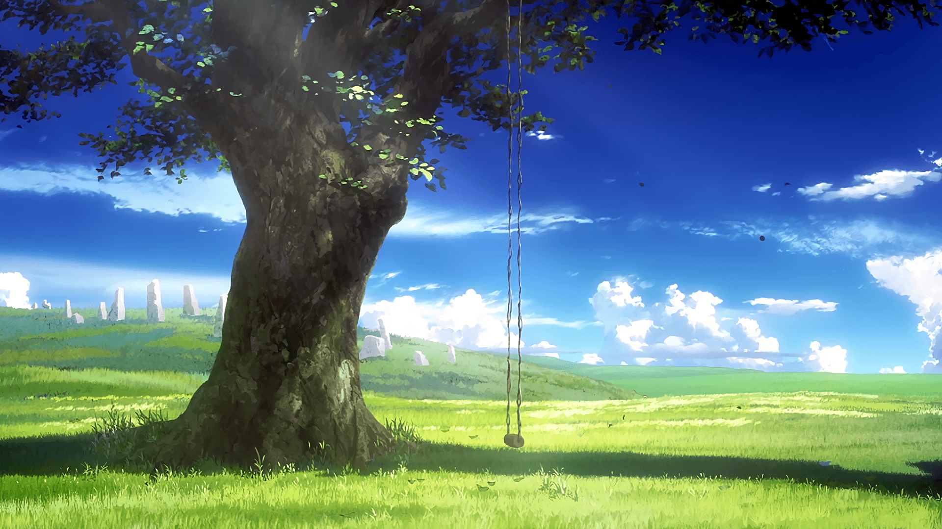 anime nature wallpapers
