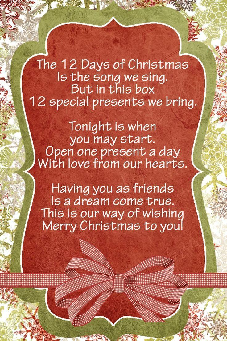 best 25 12 days of christmas ideas on pinterest 25 days of