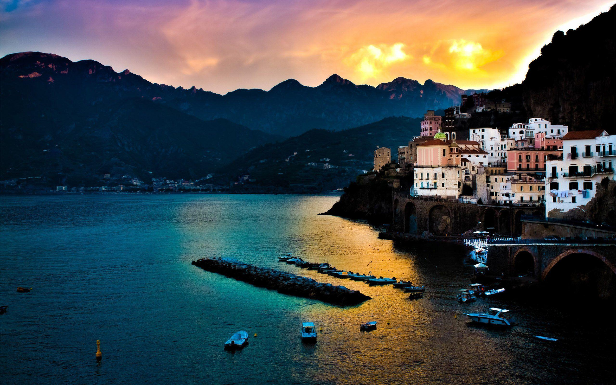 Amalfi Coast Wallpaper Italy World (73 Wallpapers) – HD Wallpapers