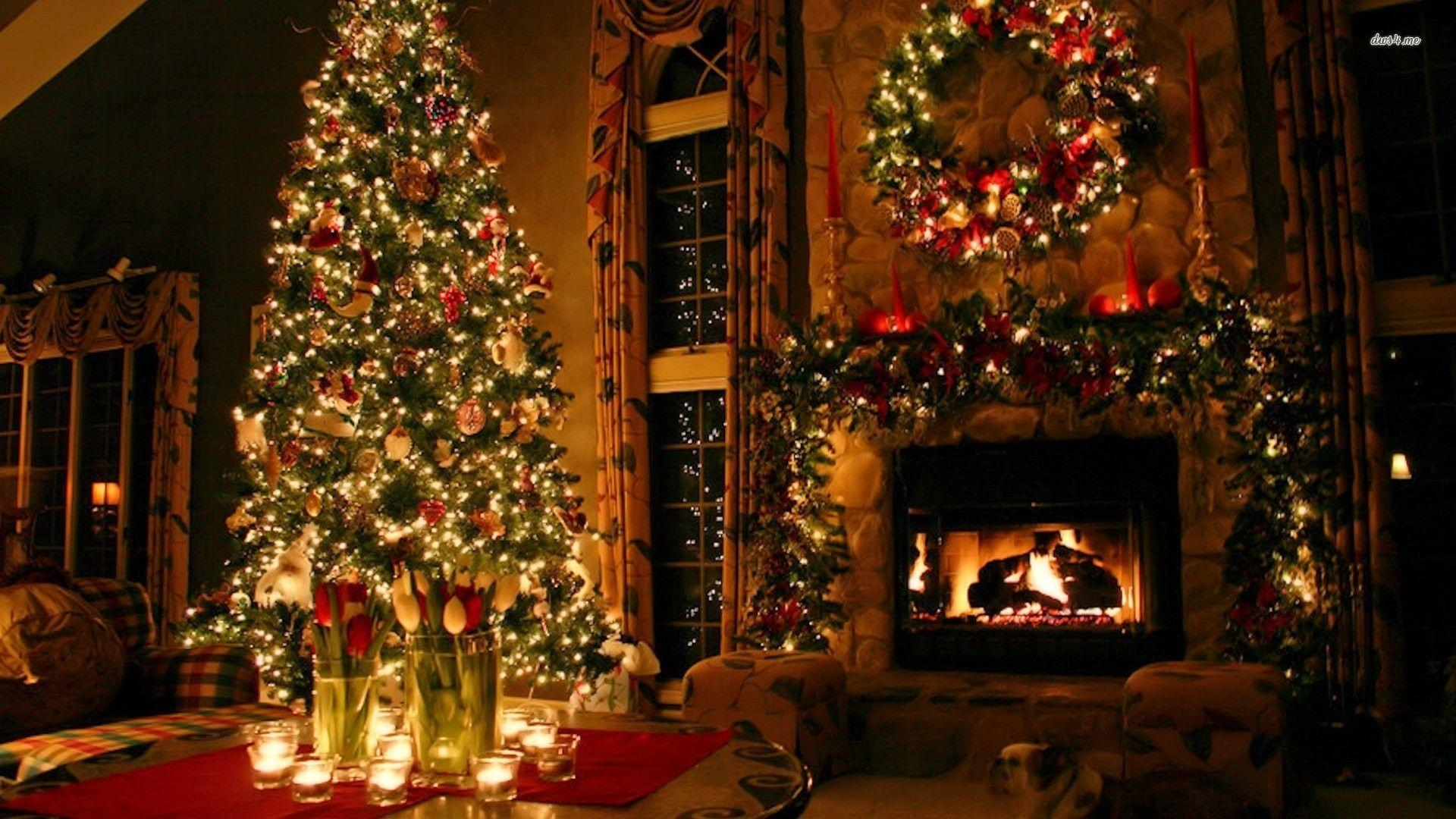 Christmas Holiday Decorations Desktop Wallpapers