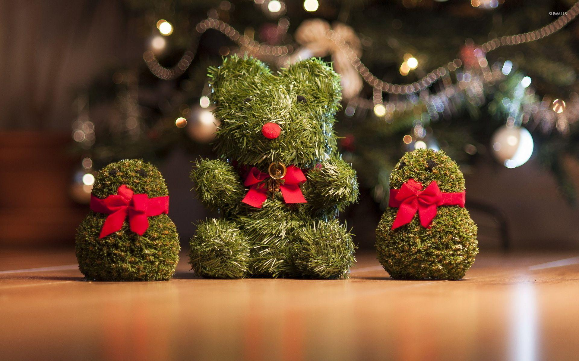Cute Christmas decorations wallpapers
