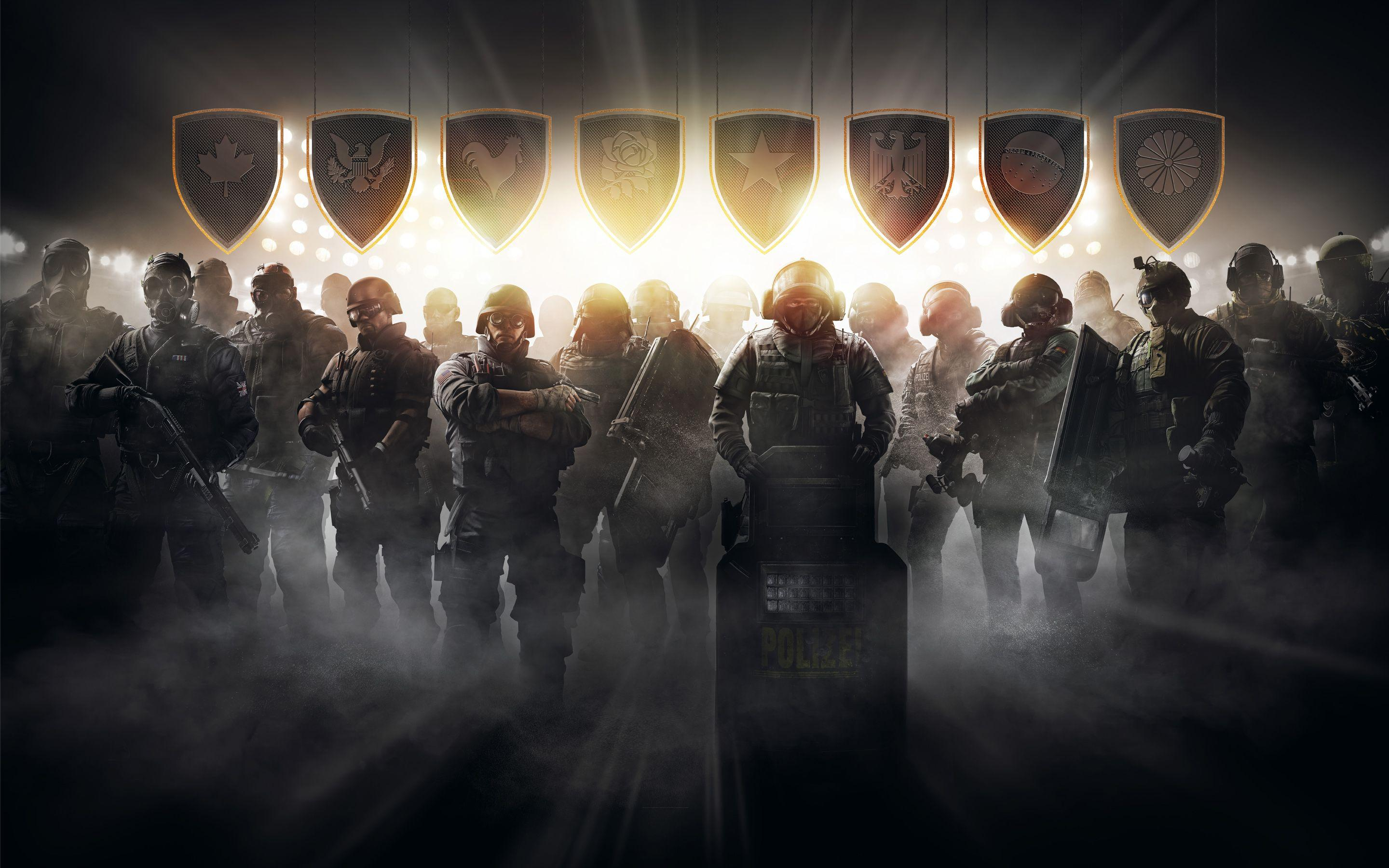 Tom Clancy's Rainbow Six Siege Pro League Wallpapers