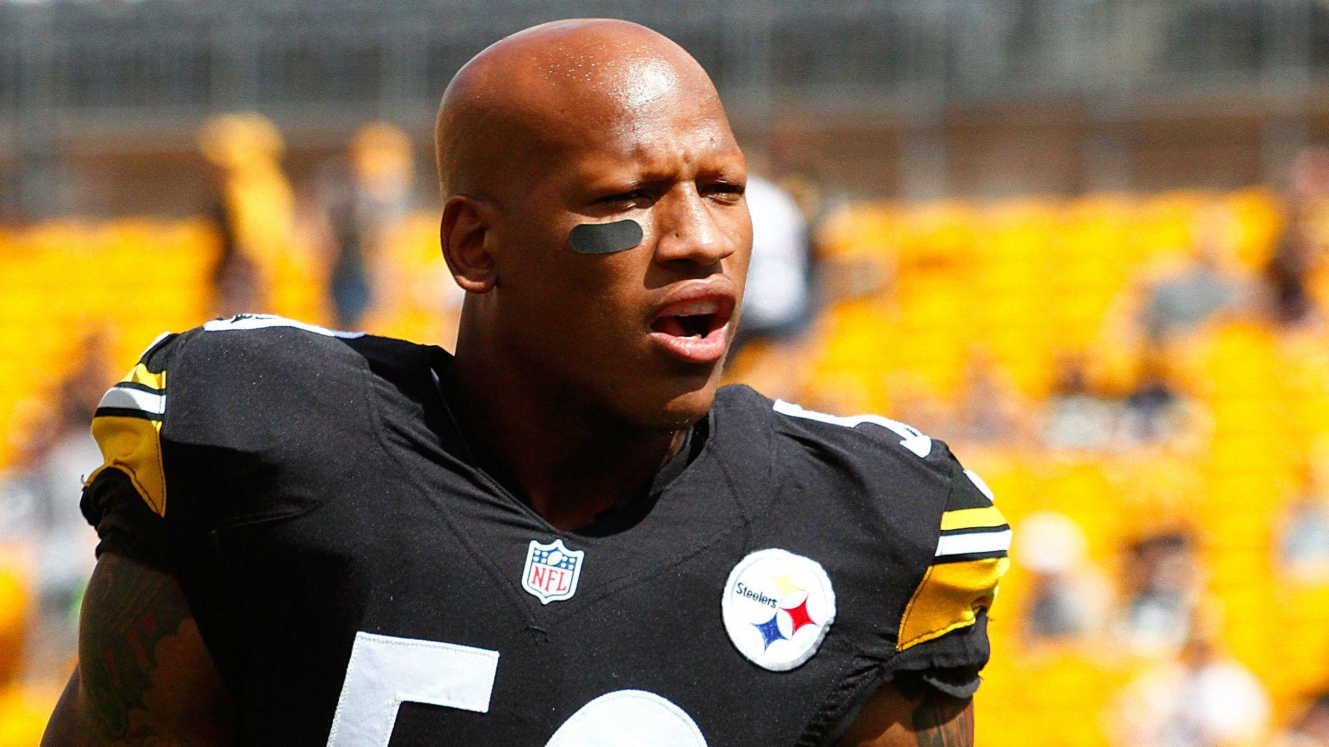 Steelers' Ryan Shazier goes bare in frigid Pittsburgh | NFL ...