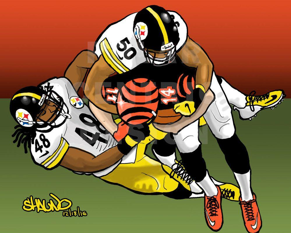 Bud Dupree and Ryan Shazier Takedown by PolarCentricDesign on ...