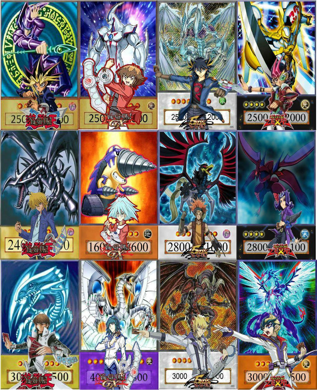 Yu-Gi-Oh! Cards Wallpapers