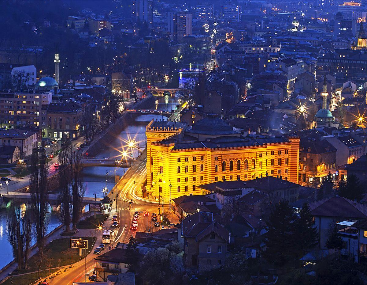 The Sarajevo city photos and hotels - Kudoybook