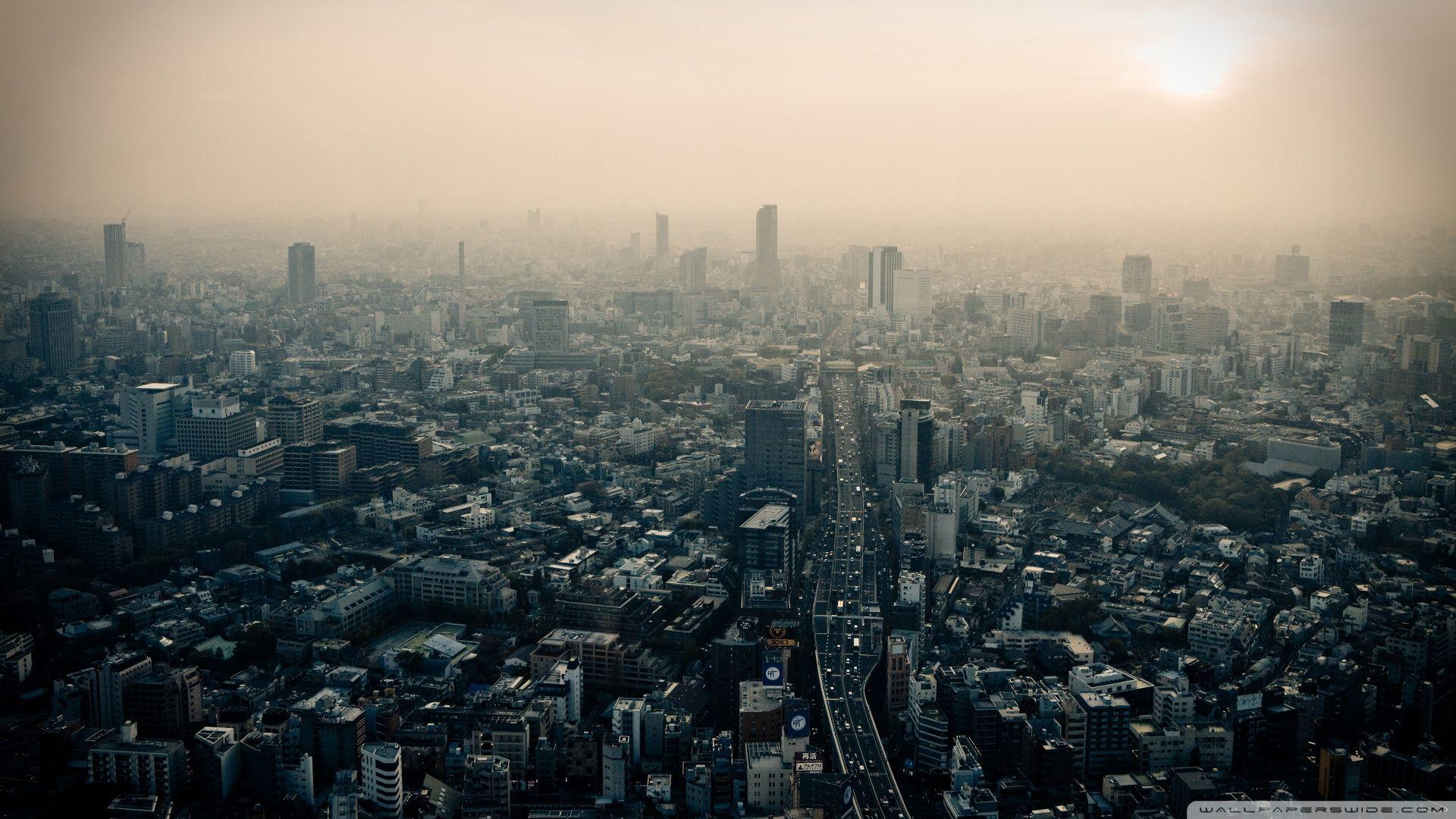 Tokyo Smog ❤ 4K HD Desktop Wallpaper for 4K Ultra HD TV • Dual ...