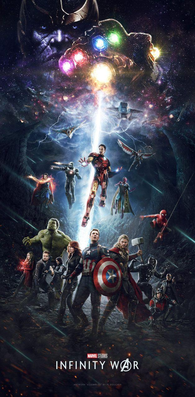 Avengers Infinity War Poster by themadbutcher on DeviantArt