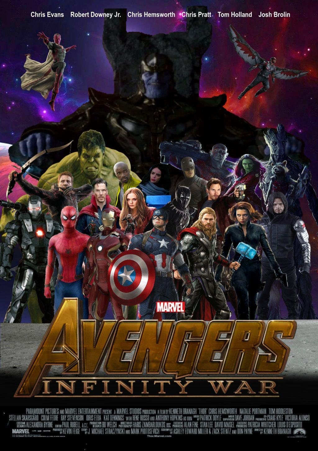 Avengers - Infinity War Movie Poster by jackjack671120 on DeviantArt