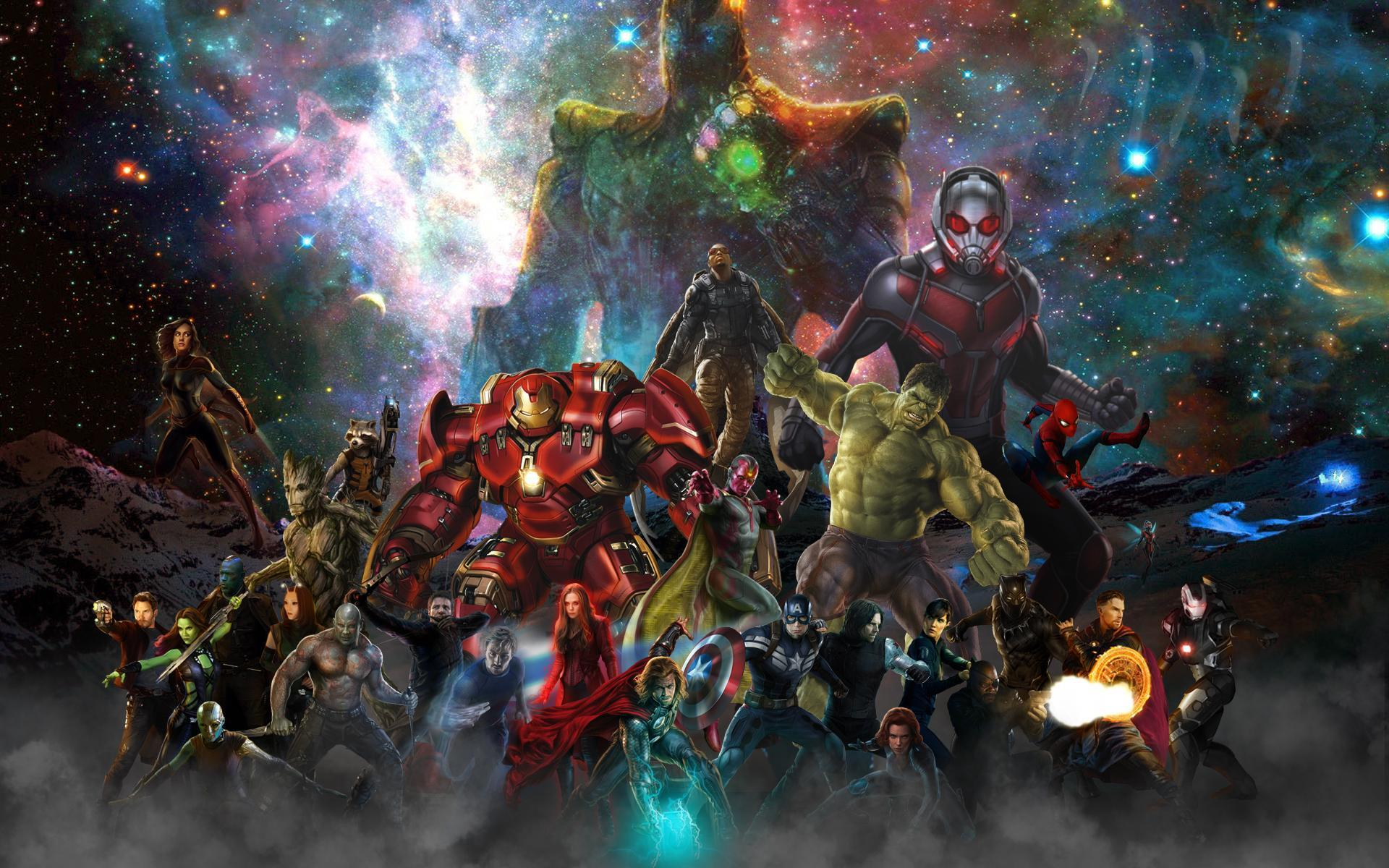 The Infinity Collective - The ensemble leading up to Infinity War ...